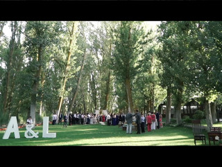 Vídeo de una boda mágica
