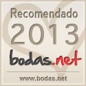 Sello RECOMENDADO Bodas.net