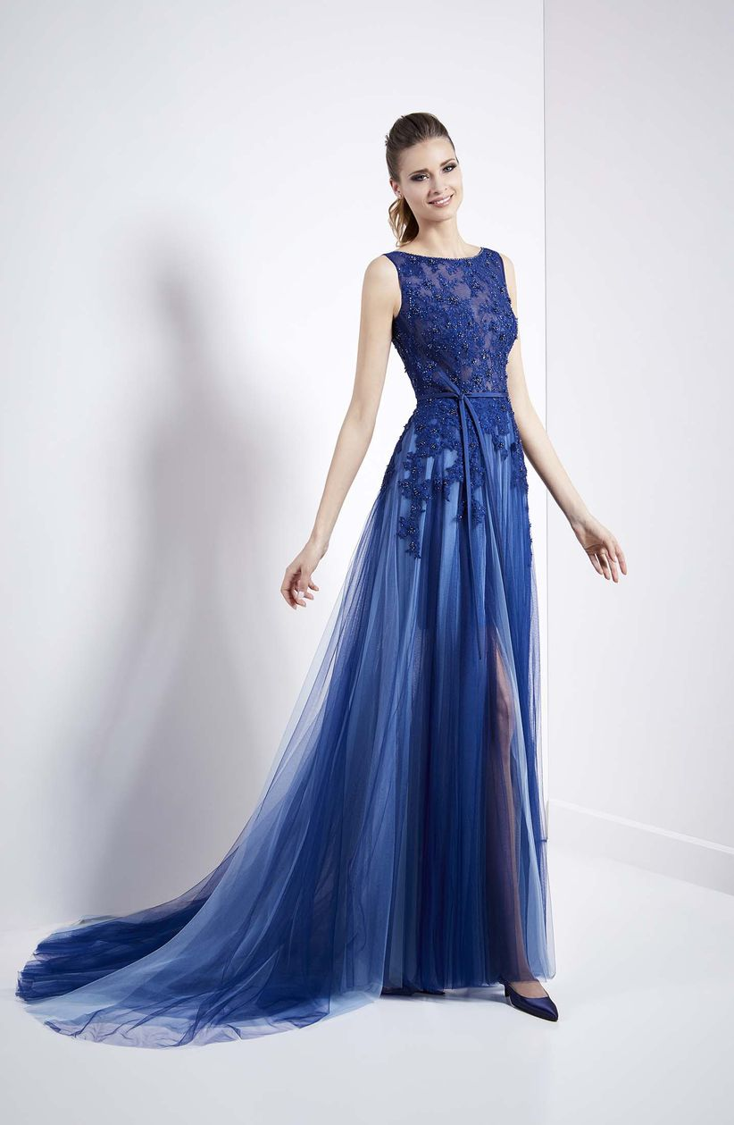 967139844 150 vestidos azules de fiesta que querrás lucir en las bodas