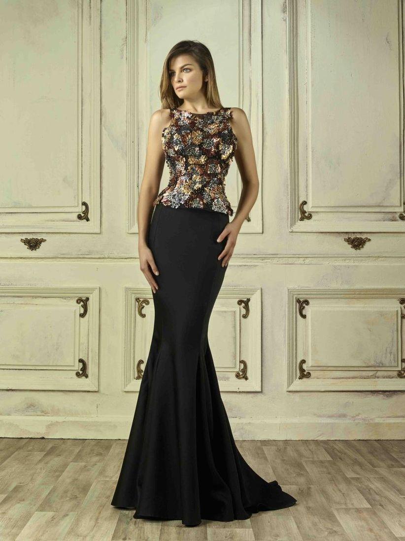 14947e3db6 30 vestidos de fiesta  apuesta por el negro y conviértete en la ...