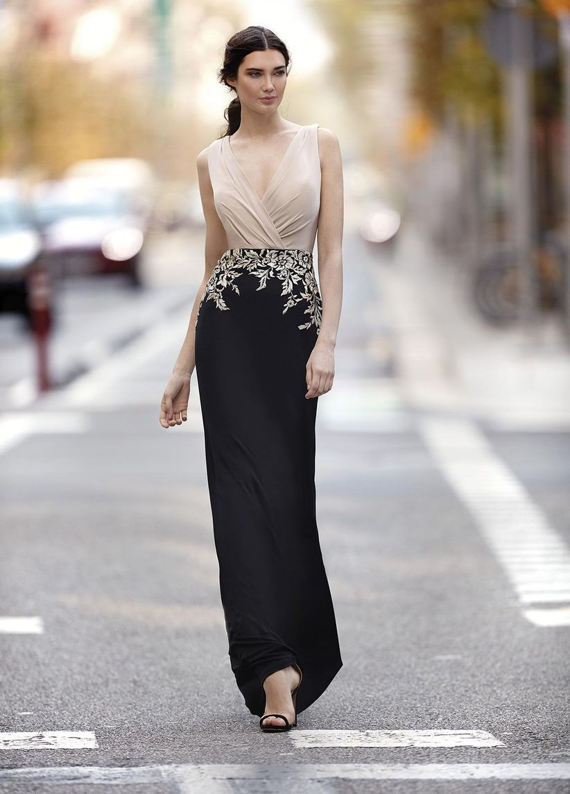 Vestido negro para boda como combinarlo