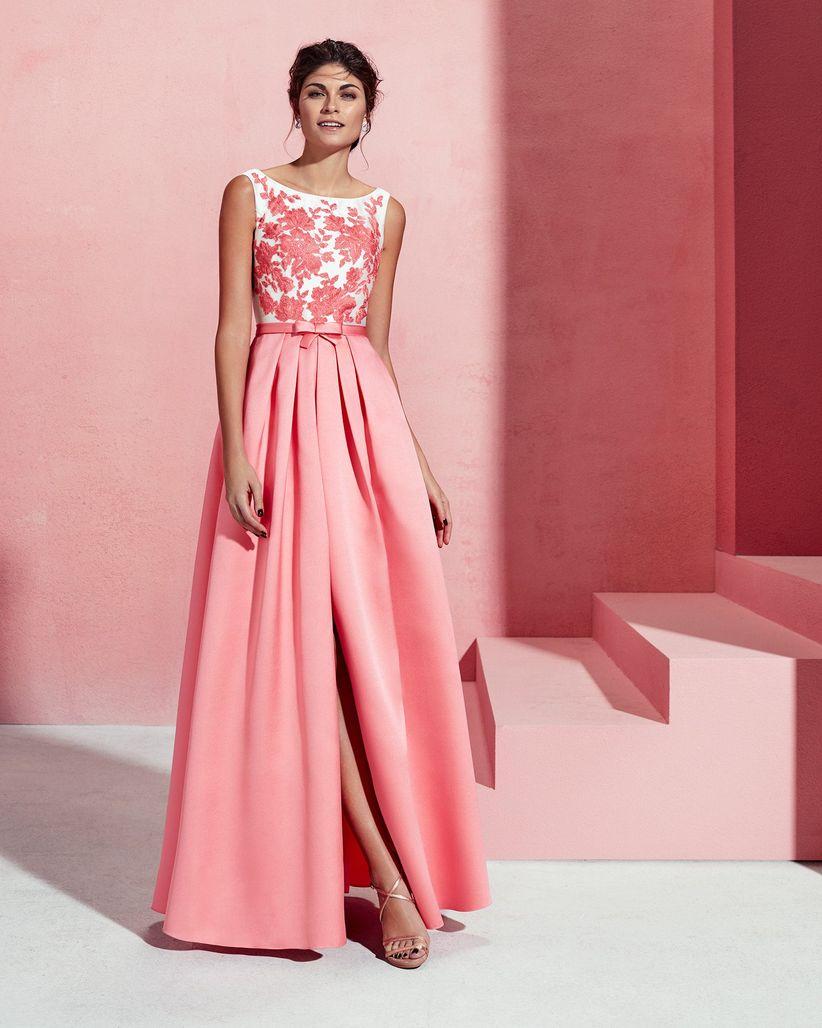 Vestidos de fiesta 2018 ¡con flores!: más de 80 looks para invitadas ...