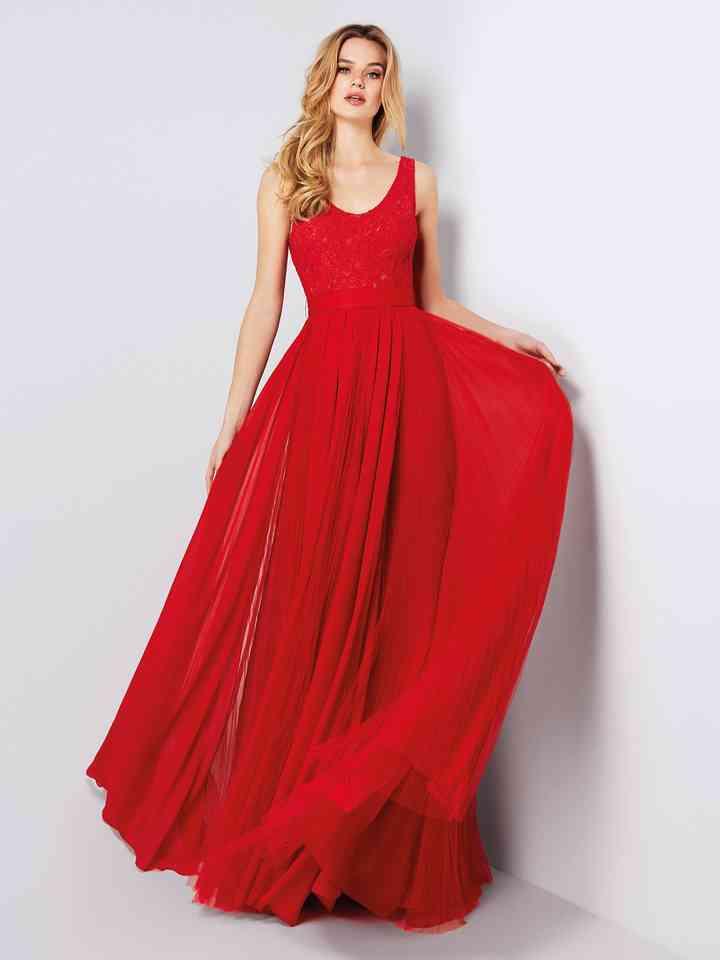 Vestidos Rojos De Fiesta Más De 100 Looks Para Impactar
