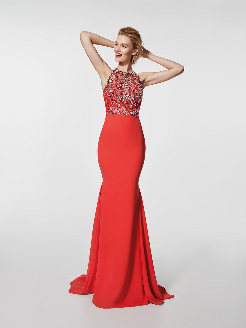 a4994d528 Vestidos rojos de fiesta  más de 100 looks para impactar