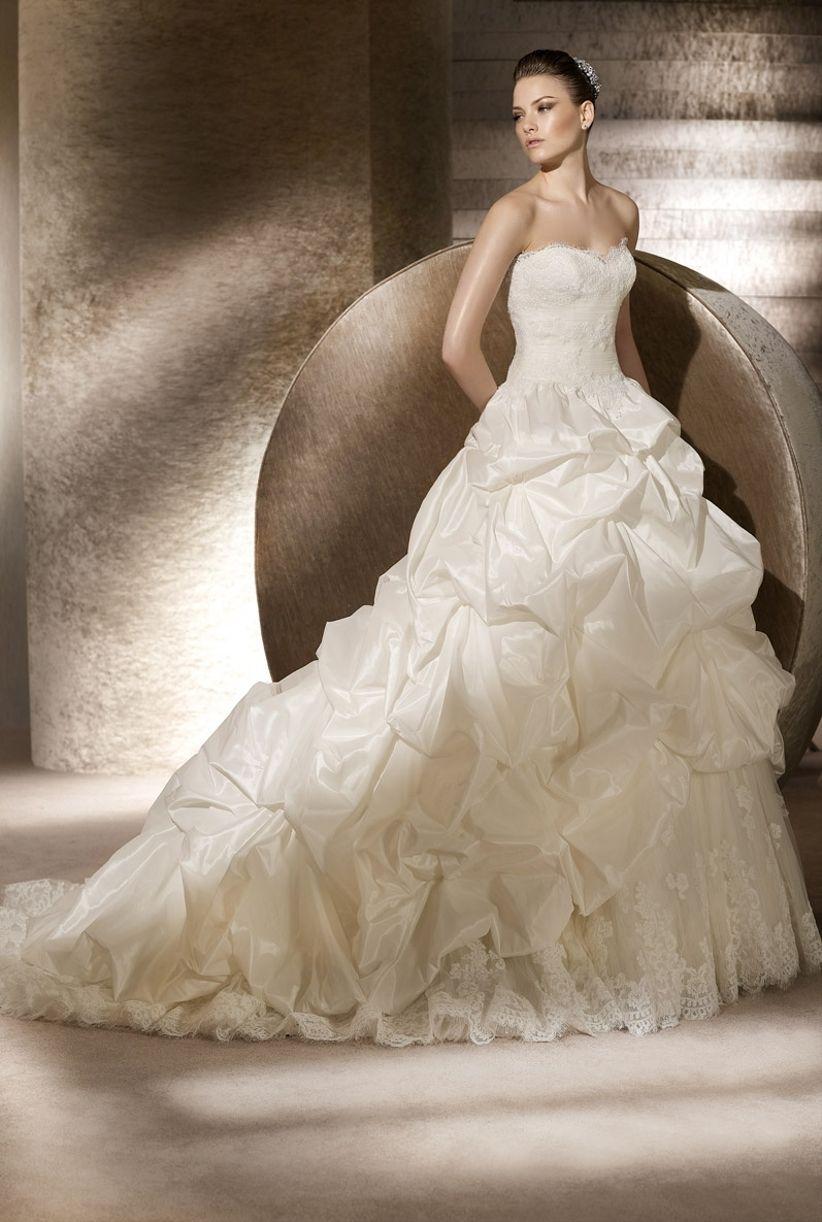 Coleccion de vestidos de novia san patrick