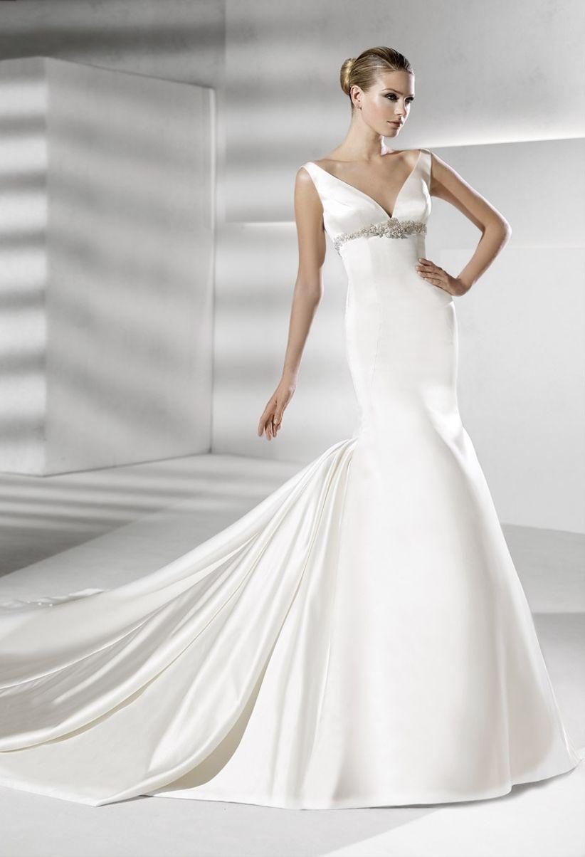 Vestidos de novia de tipos de cuerpo