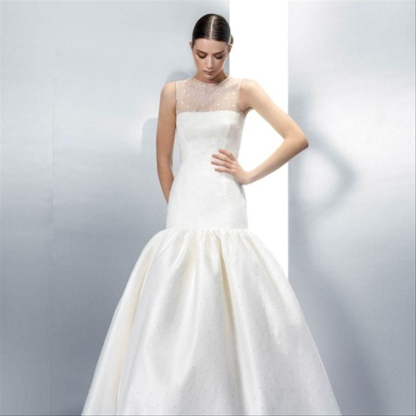 vestidos de novia con plumeti