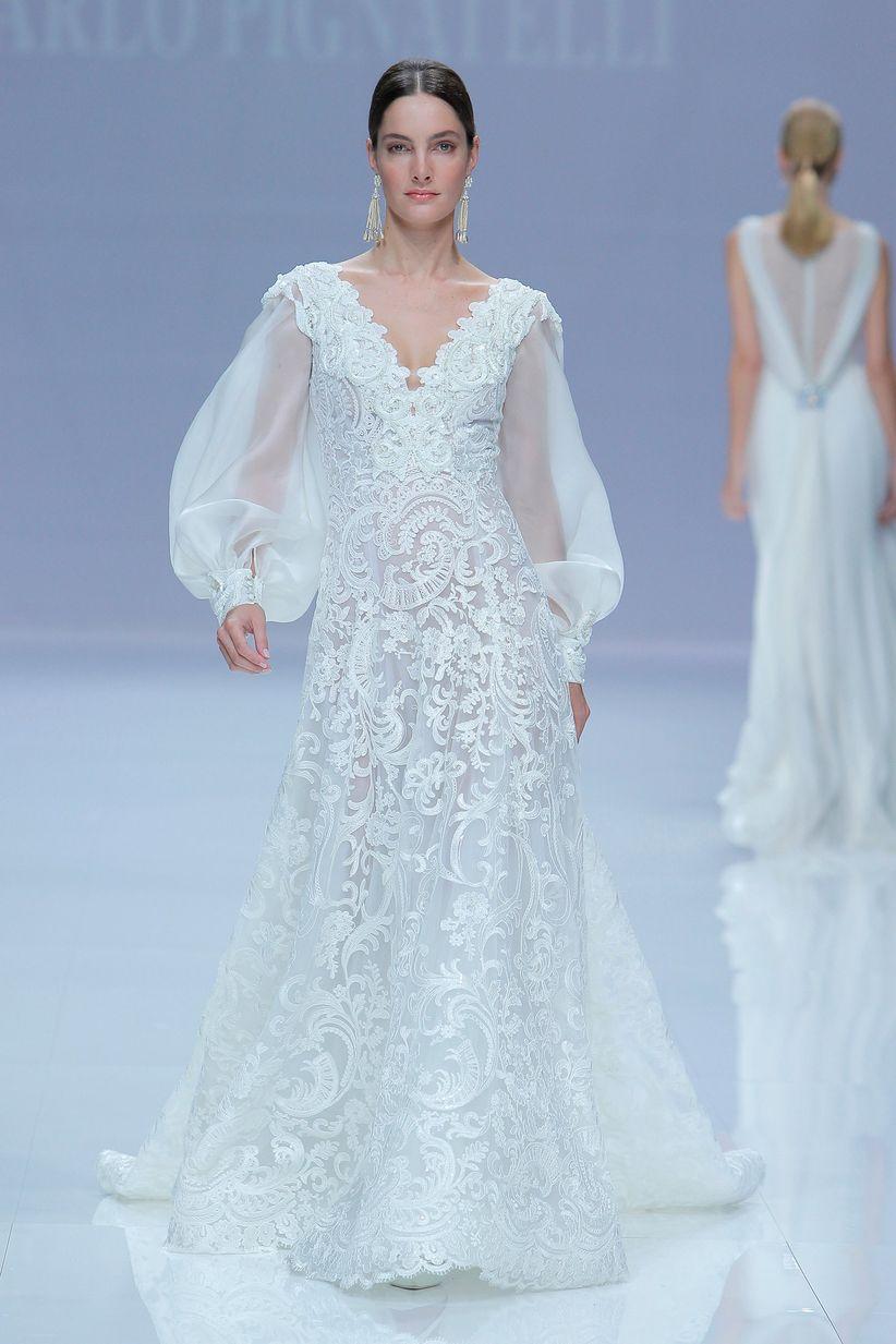 Nice Vestido Novia Paula Echevarria Crest - All Wedding Dresses ...