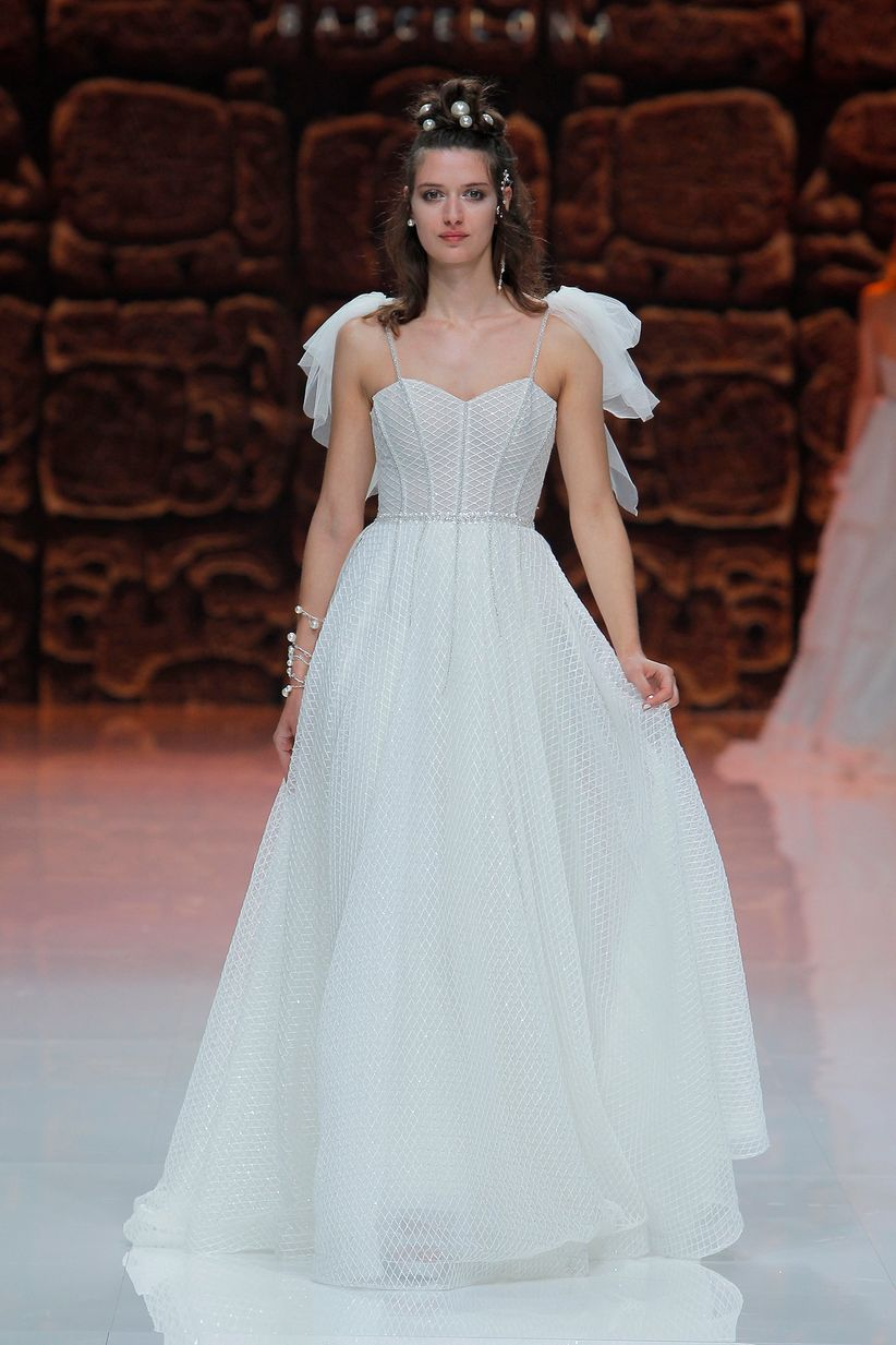 Enchanting Vestidos Novia Leon Festooning - All Wedding Dresses ...