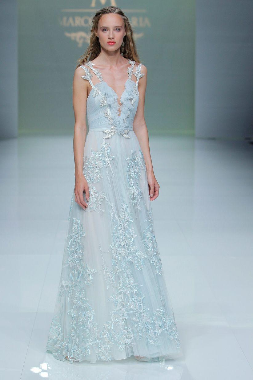 150 vestidos azules de fiesta que querrás lucir en las bodas