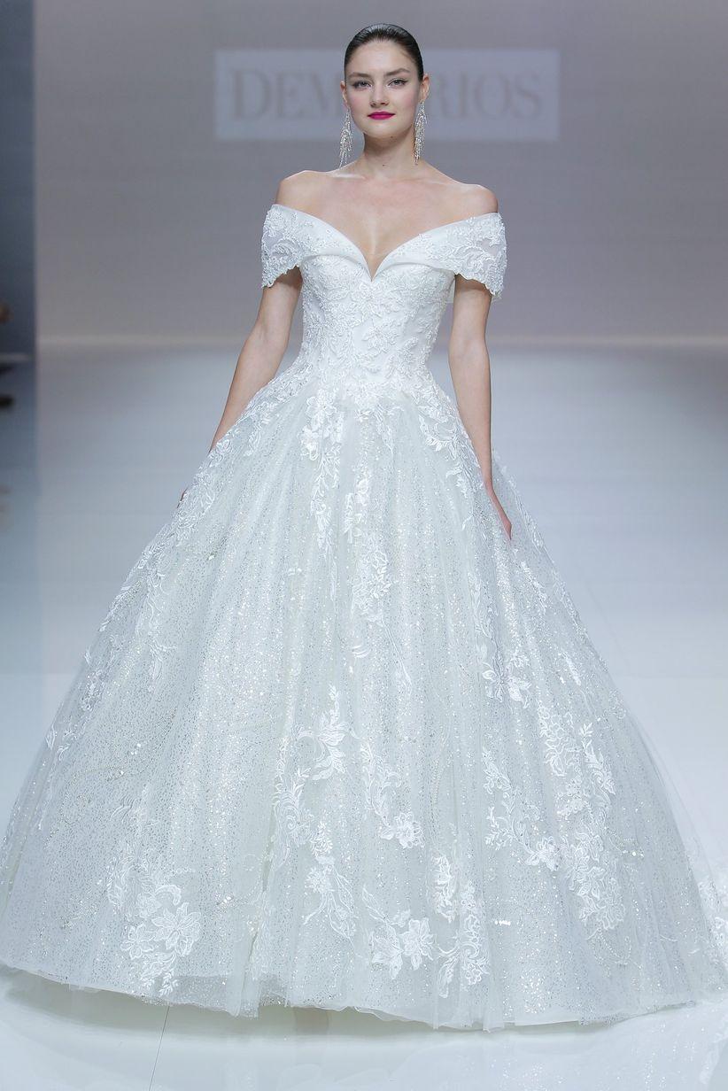 Vestidos de novia Demetrios 2019: diseñados para brillar