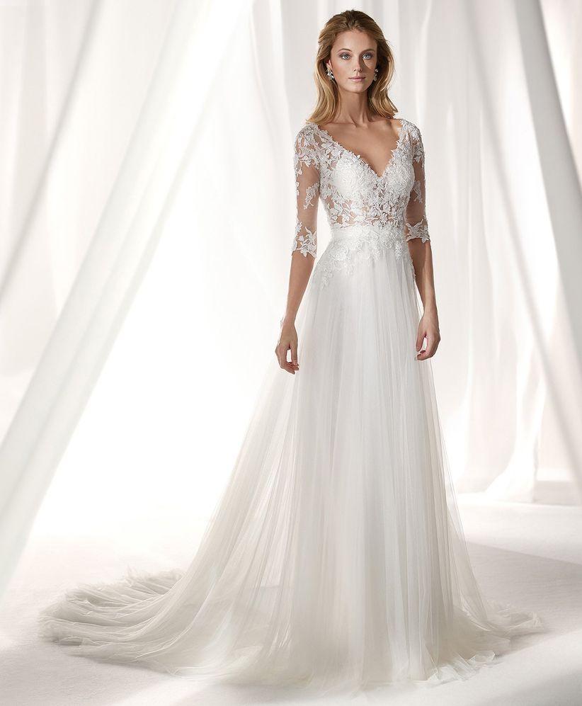 Vestidos de boda para mujeres mayores
