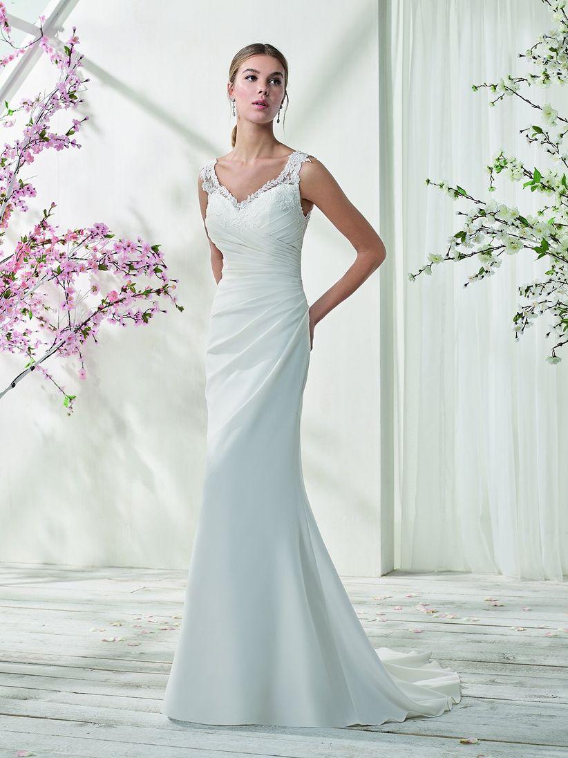 80 vestidos de novia sencillos para bodas civiles