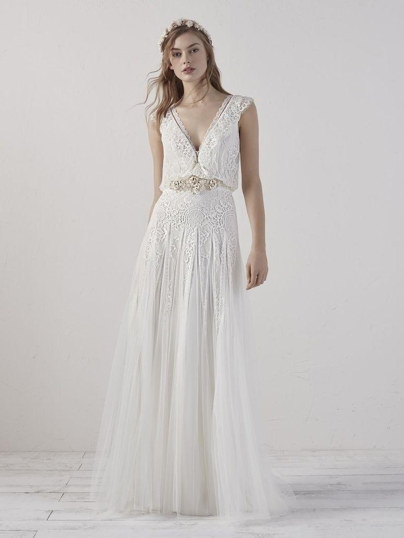 Vestidos de novia vintage pronovias