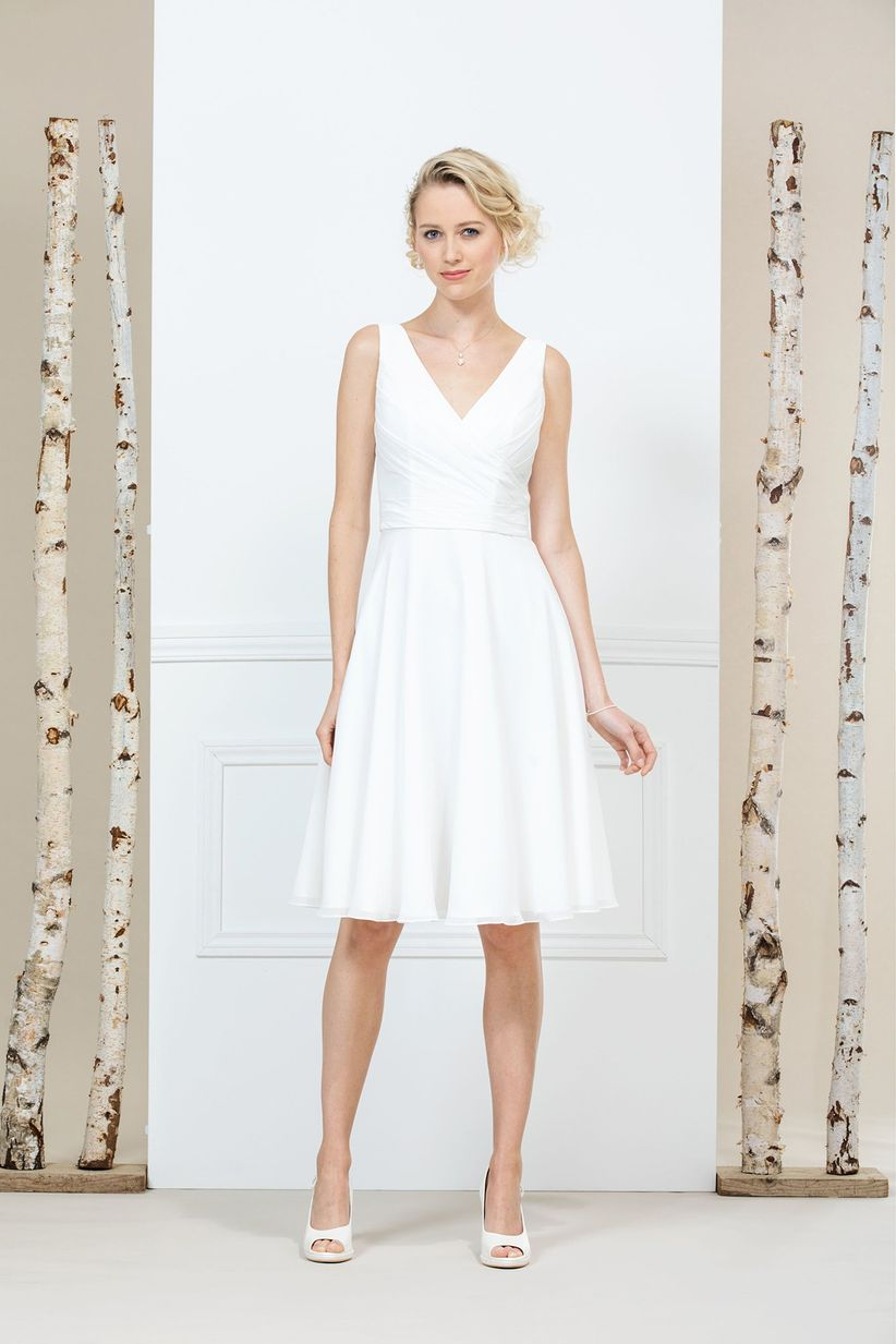 3bd03d172 80 vestidos de novia sencillos para bodas civiles