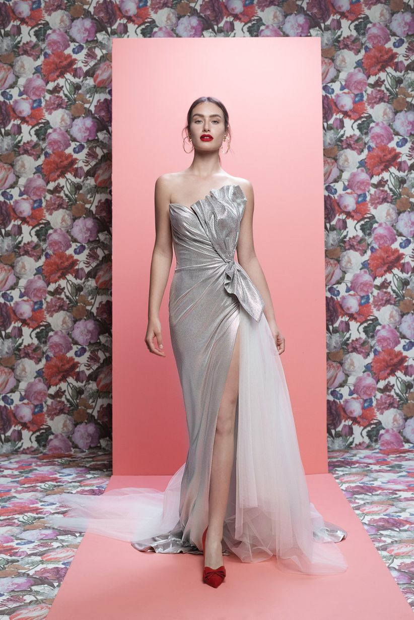 30 vestidos de novia con escote asimétrico: ¡tips básicos antes de ...