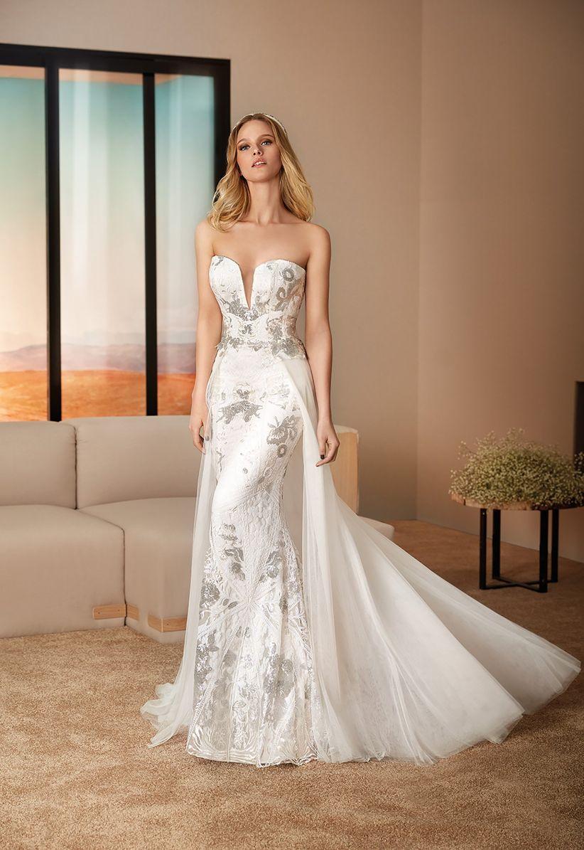 e21da2ba4 Vestidos de novia Cabotine 2019  propuestas llenas de estilo