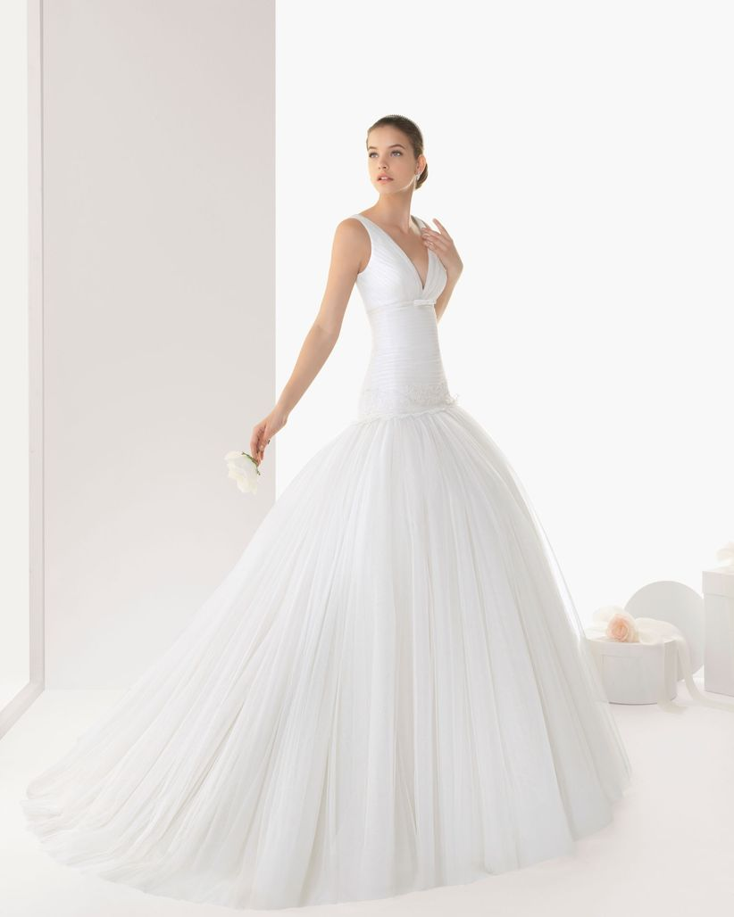617883947 Vestidos de novia Rosa Clará 2013