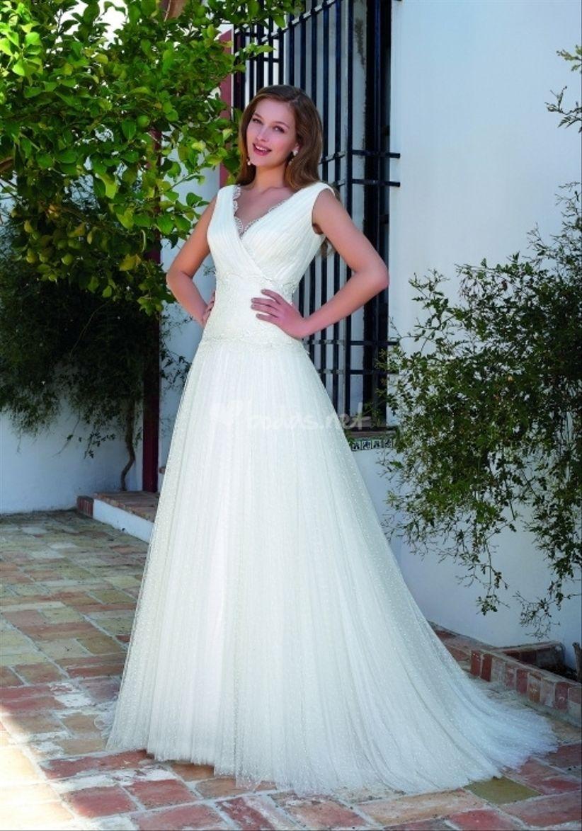 vestidos de novia manu garcía 2013
