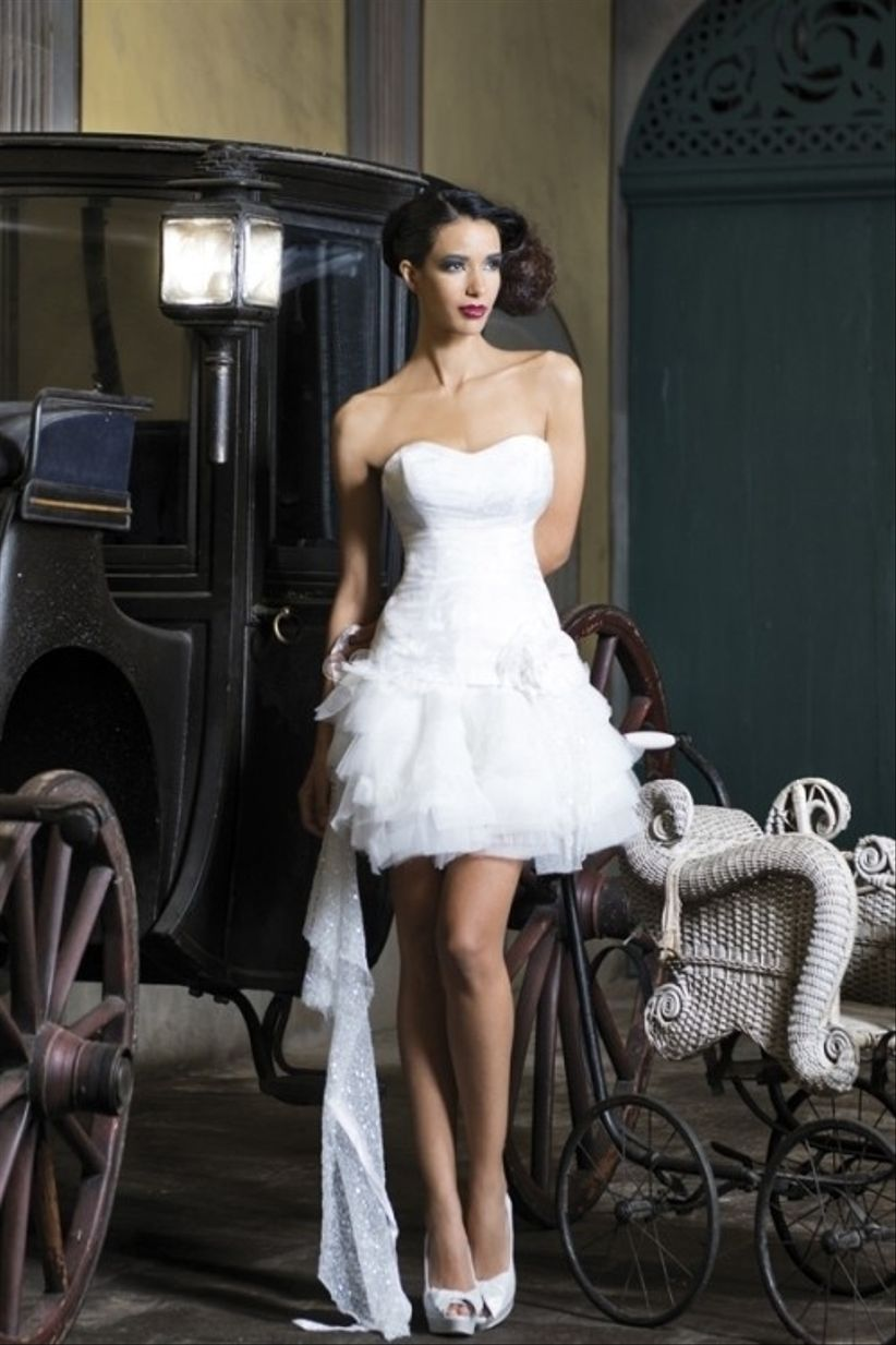 vestidos de novia cortos chile