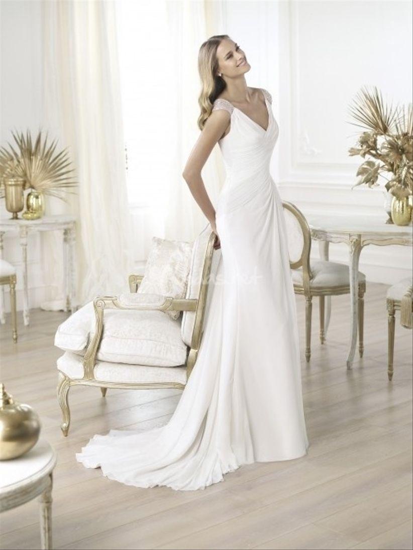 vestidos novia mujer madura
