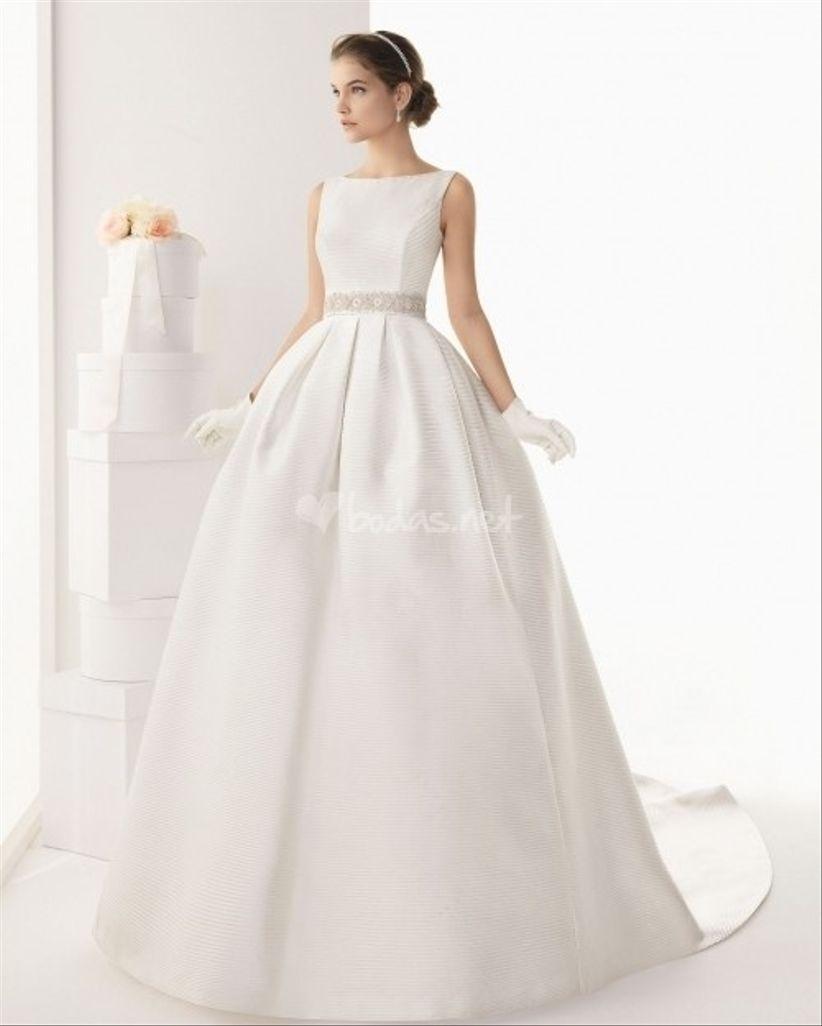 Vestidos novia precios rosa clara