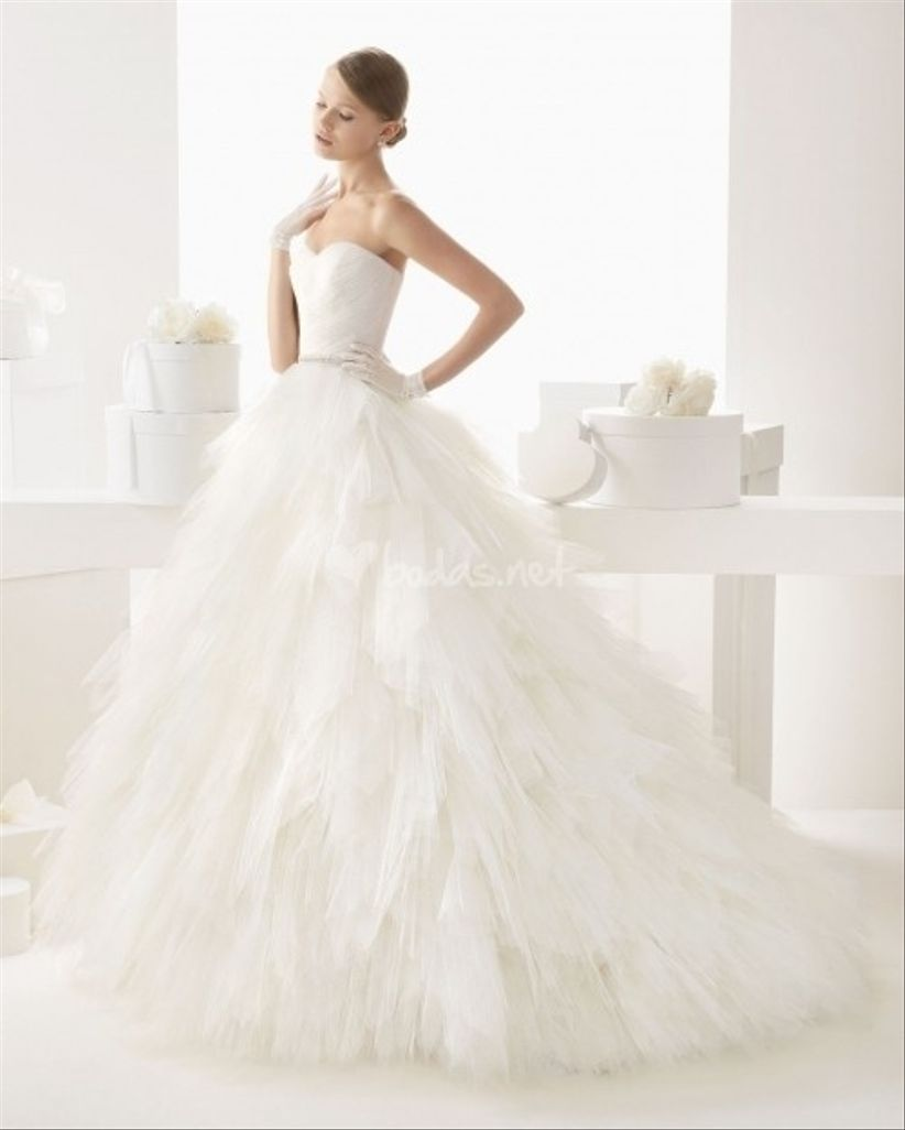 10 vestidos de novia románticos 2014