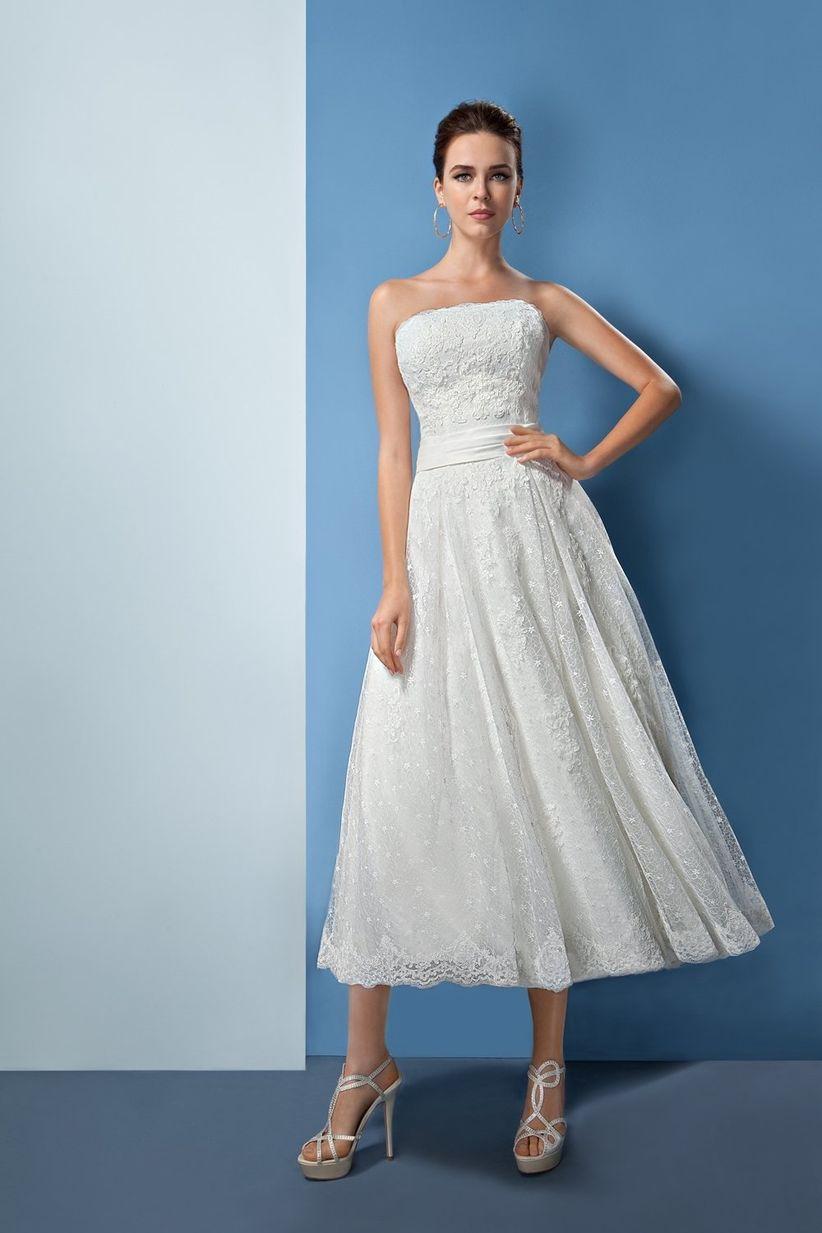 75 vestidos de novia con escote palabra de honor