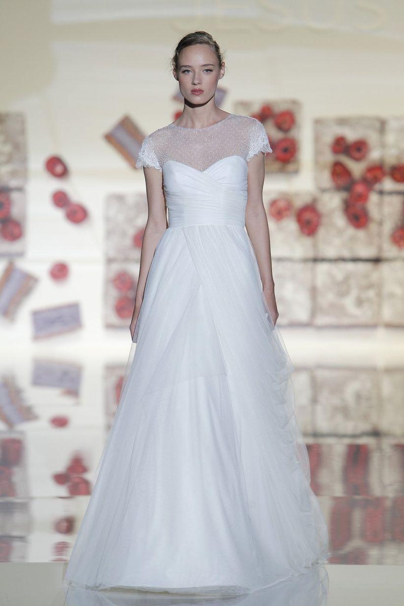 75 vestidos de novia con escote ilusión