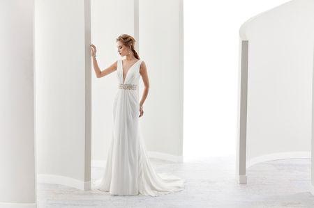 30 vestidos de novia sencillos para bodas civiles