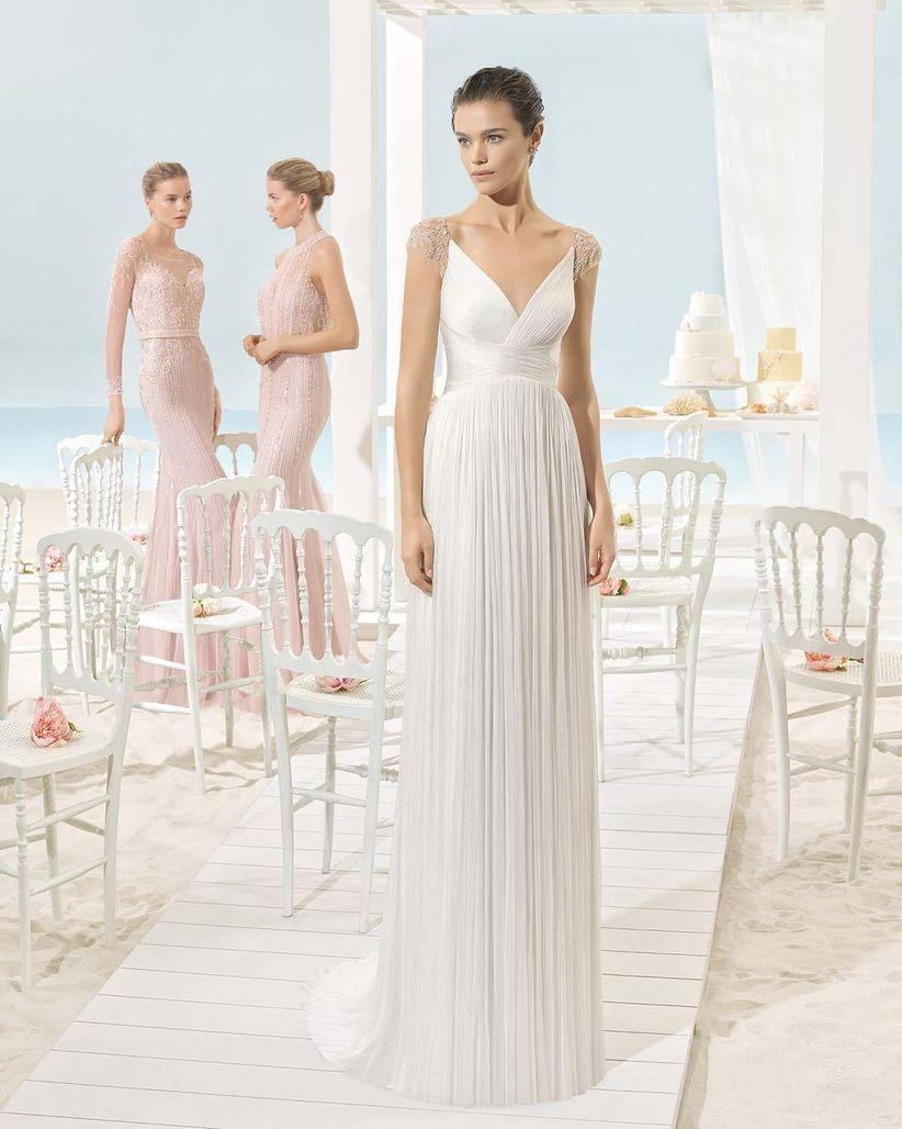 Vestidos de novia sencillos y bonitos