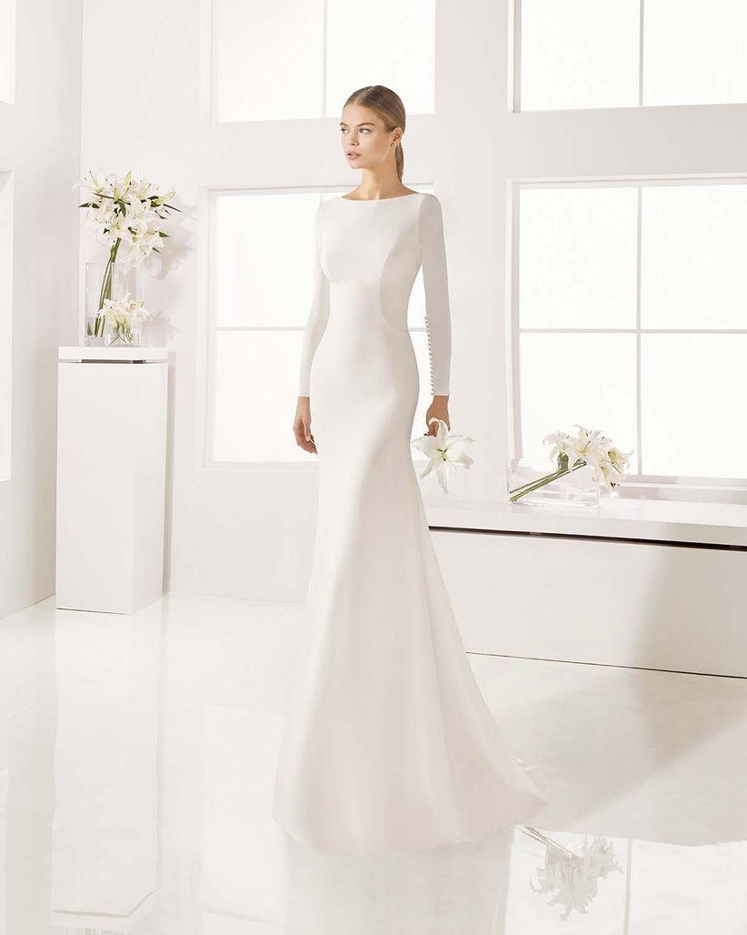 110 vestidos de novia sencillos para bodas civiles