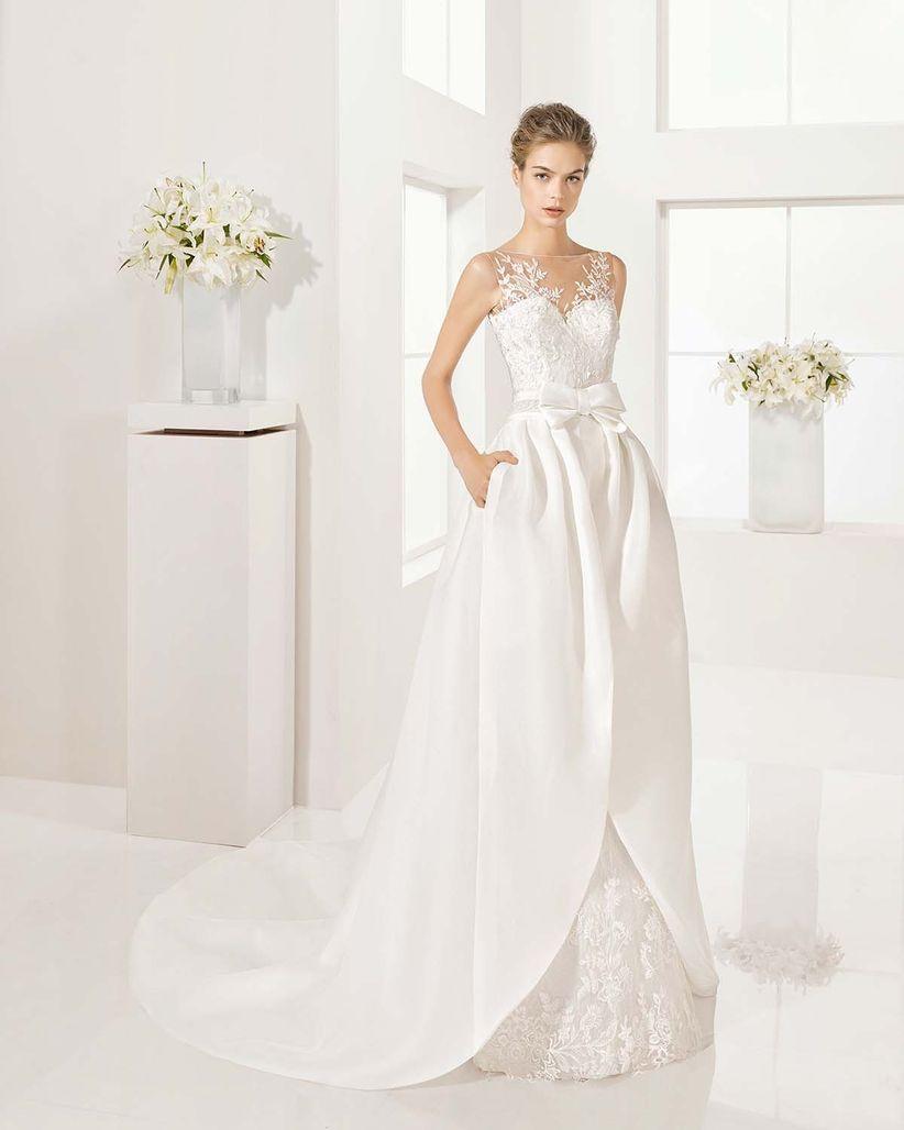 Vestidos de novia de pollera