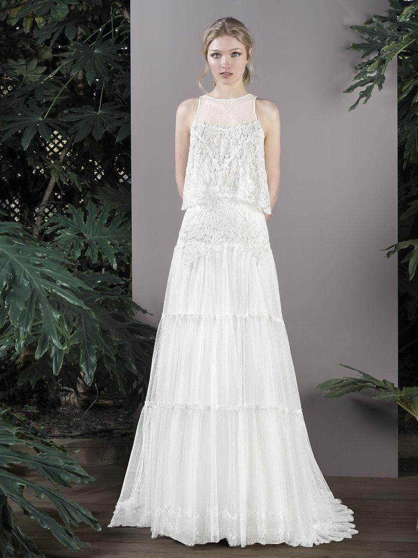Vestido boda estilo vintage