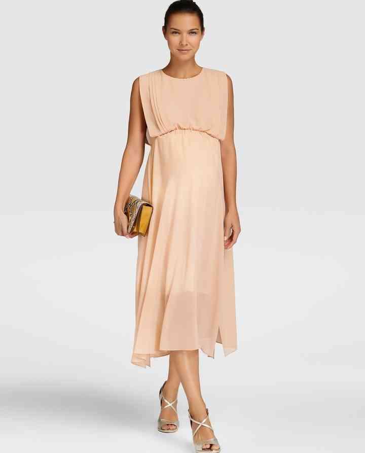 venta minorista d5e3f b243f 30 vestidos de fiesta premamá para invitadas embarazadas