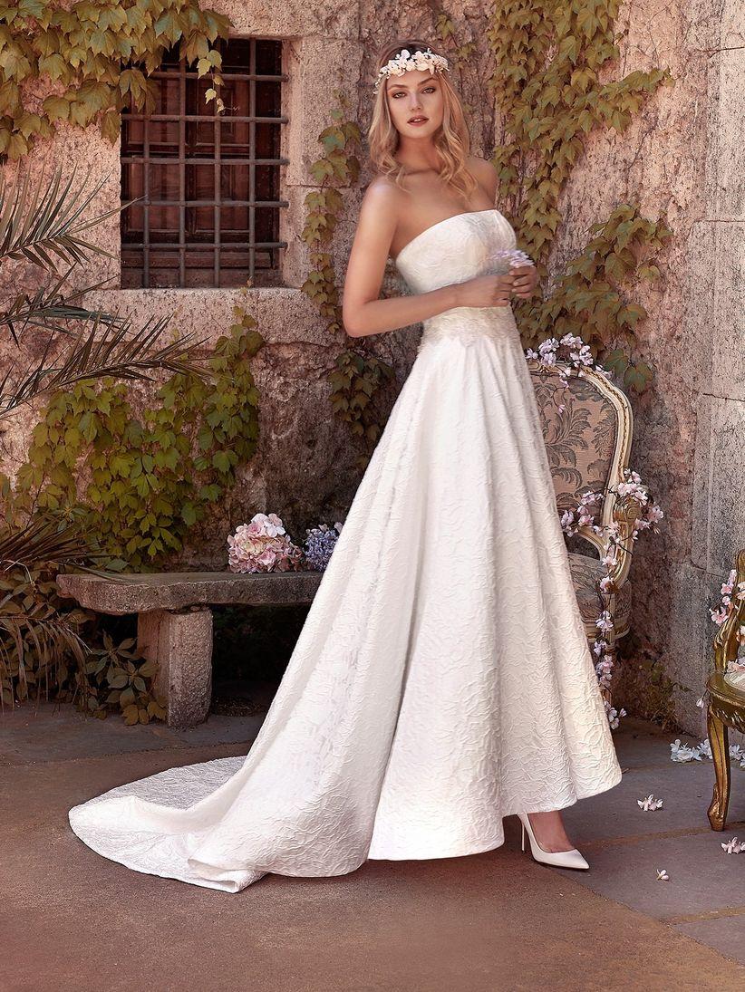 Vestidos de novia bonitos pero sencillos