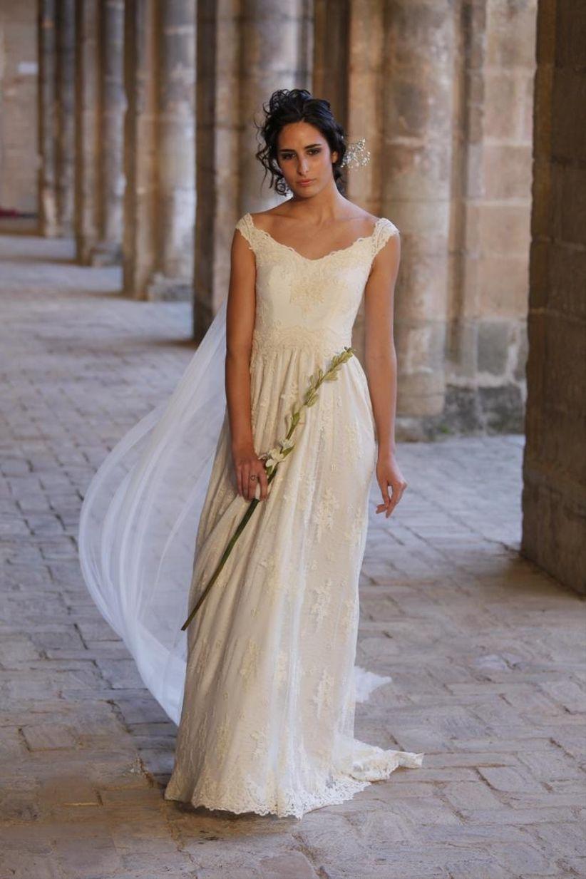 Vestido boda informal novia