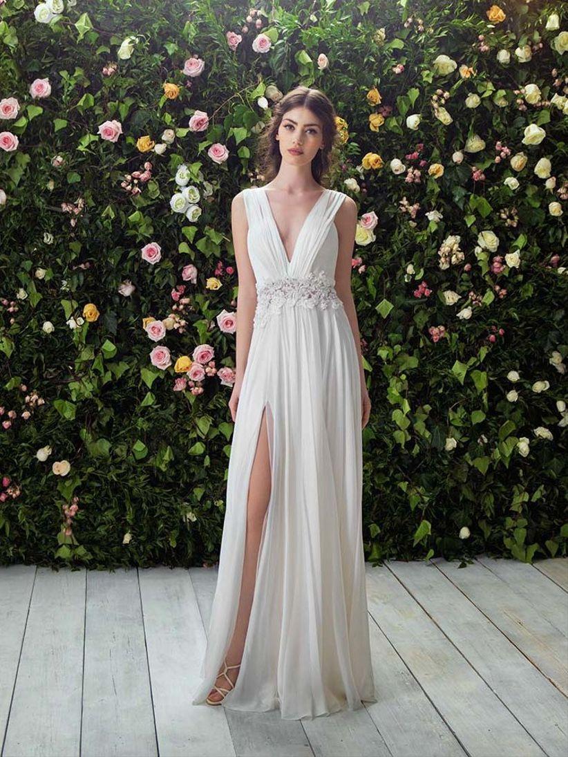 50 vestidos de novia muy sexys para mujeres atrevidas