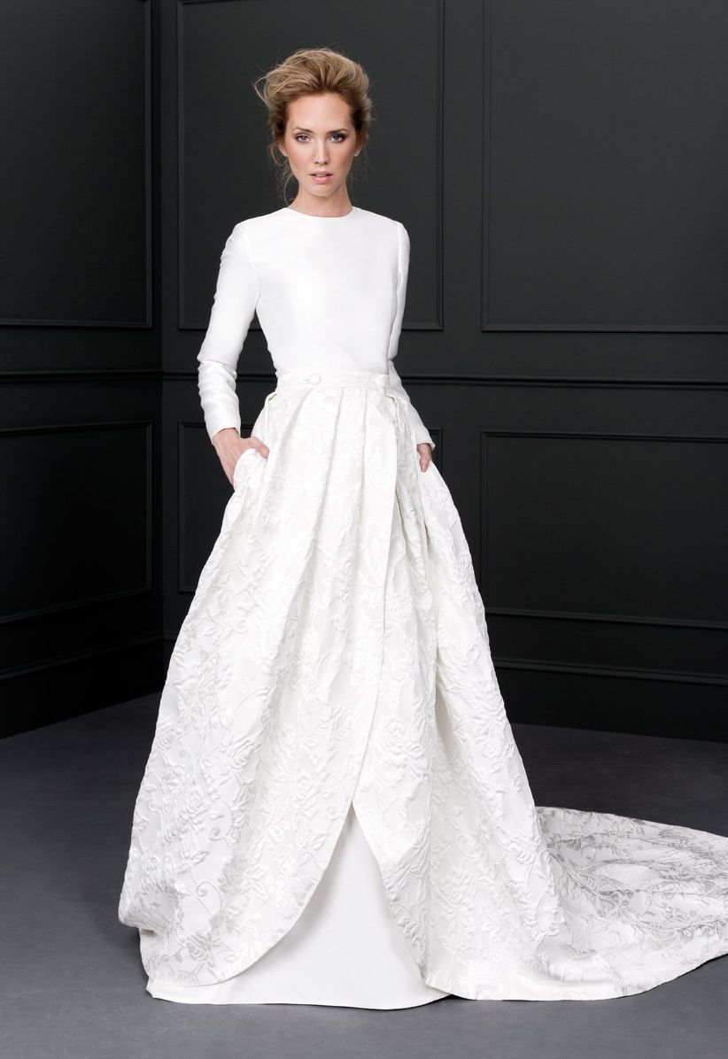 35 vestidos de novia con manga larga que te van a enamorar - Victoria martin berrocal ...