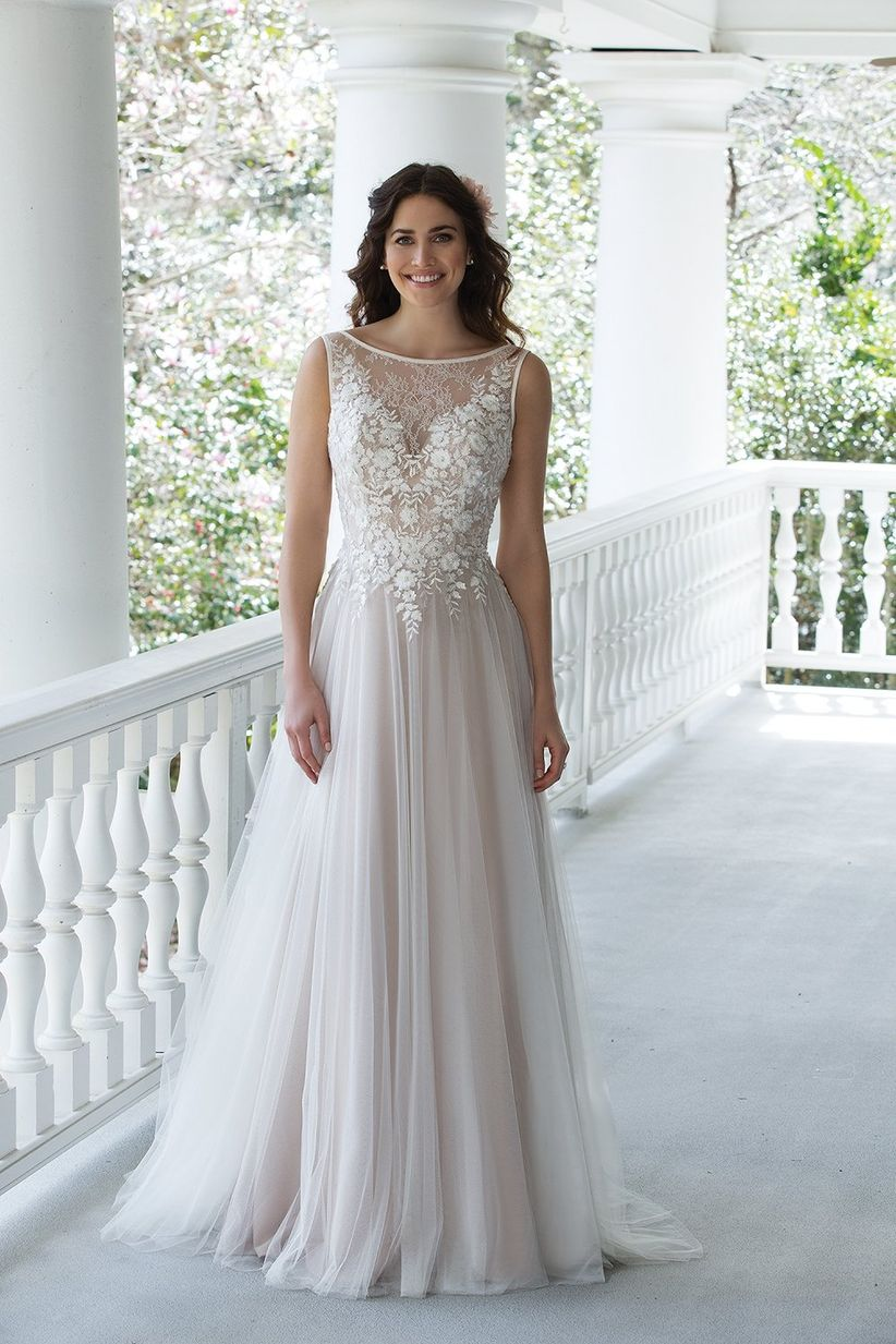 55d7e8cd7 33 vestidos para novias embarazadas en todos los estilos