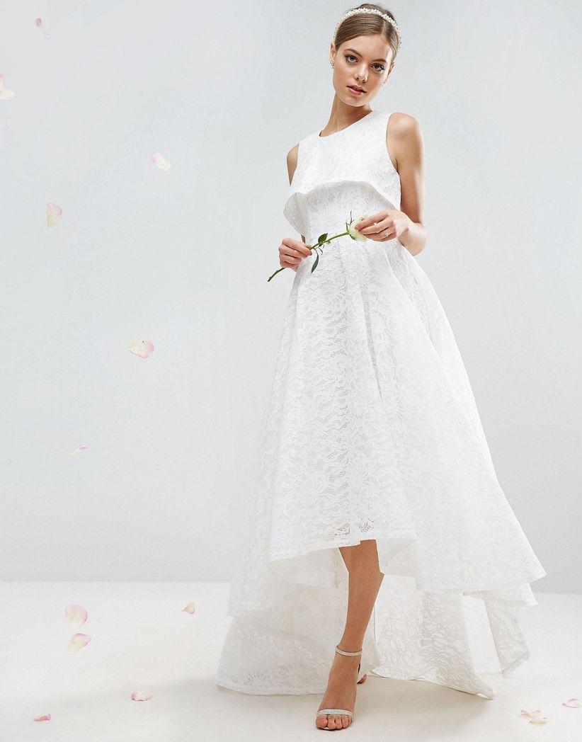 9330ac755 33 vestidos para novias embarazadas en todos los estilos