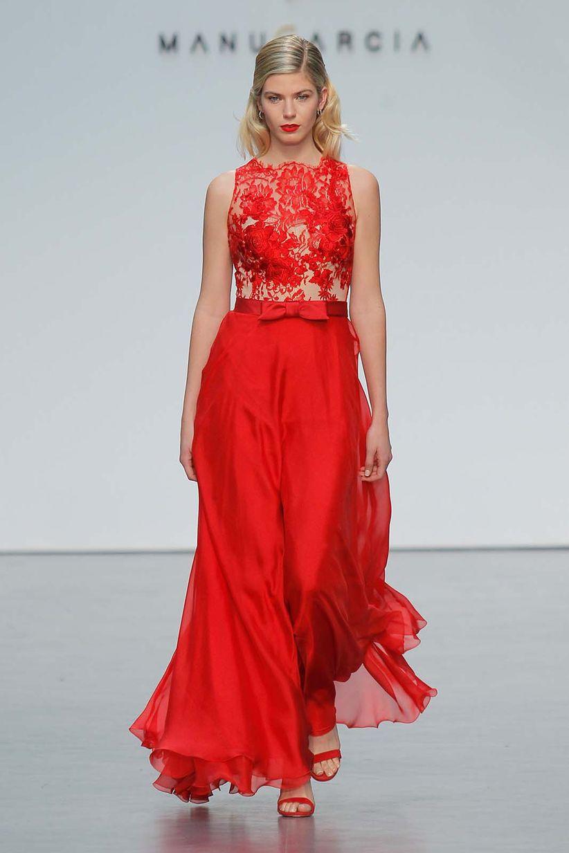 Modelos de vestidos de fiesta rojos
