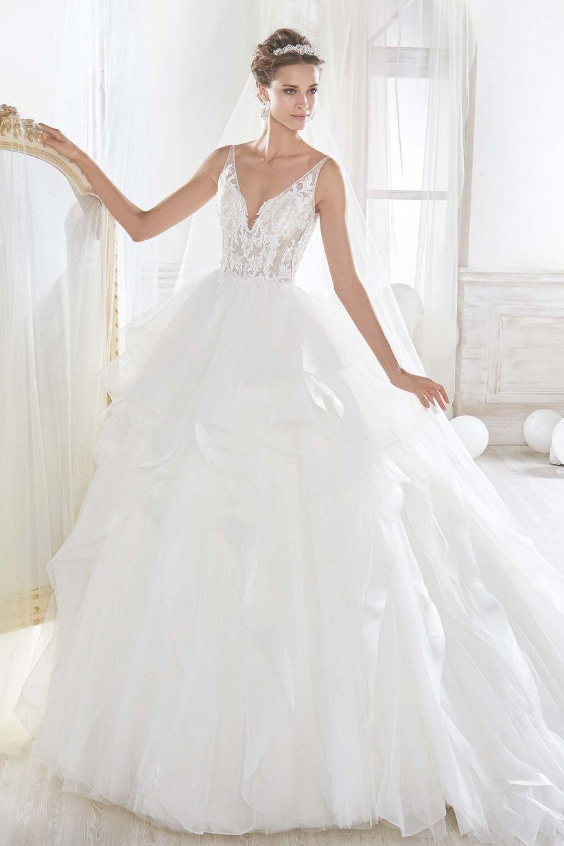 Precio vestido novia laura escanes