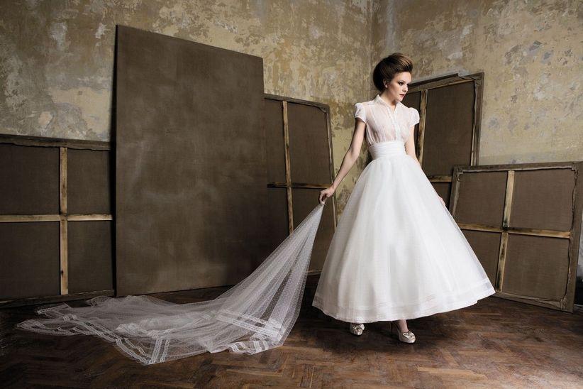 Vestidos bailarina para novias