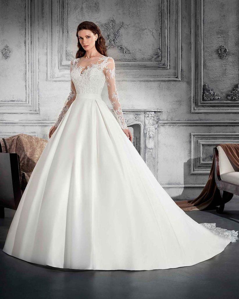Vestidos de novia muy escotados