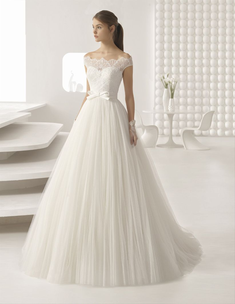 55de39987 100 vestidos de novia de corte princesa para tu boda