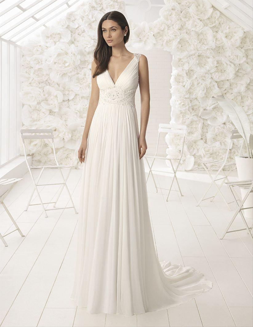 Vestidos de matrimonio para mujeres maduras