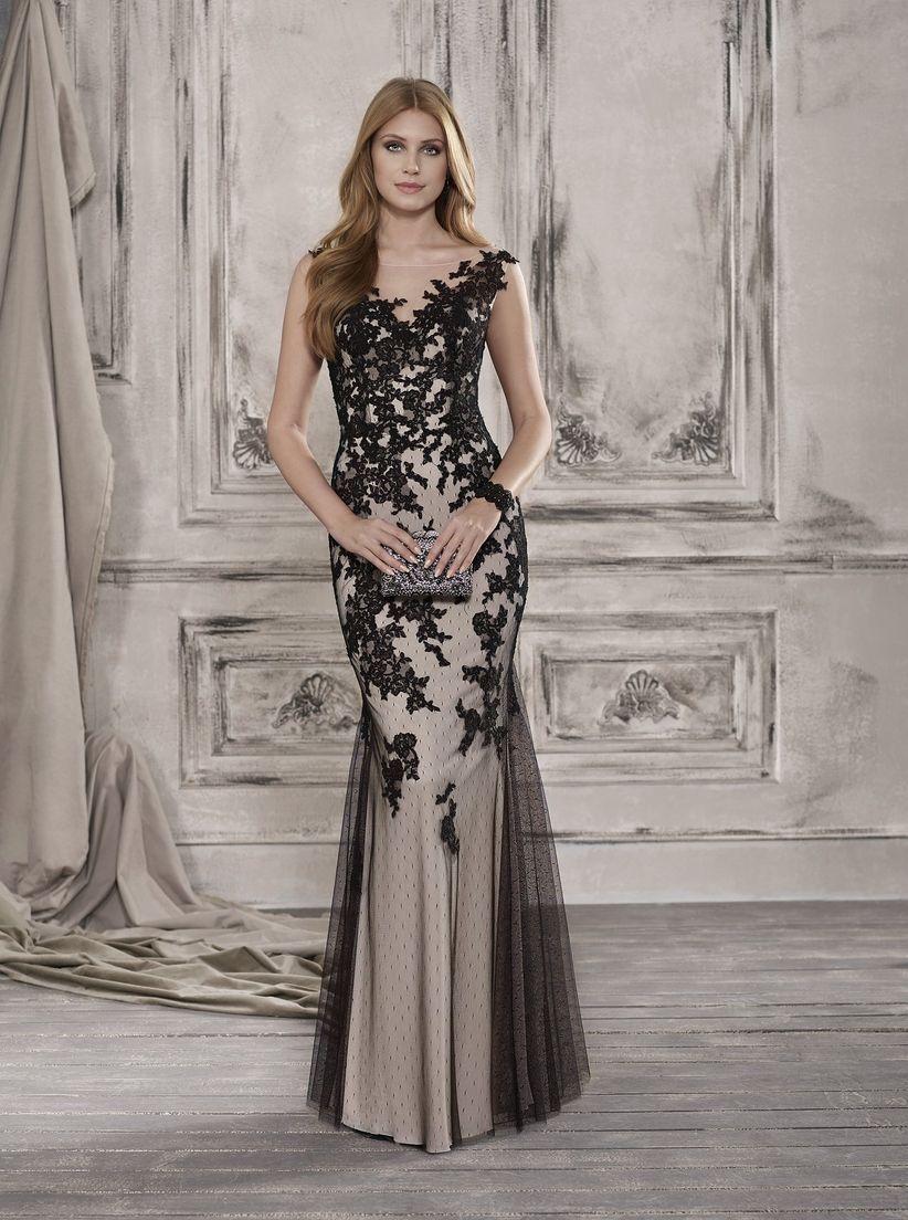 3bdc52e8b03 30 vestidos de fiesta  apuesta por el negro y conviértete en la ...