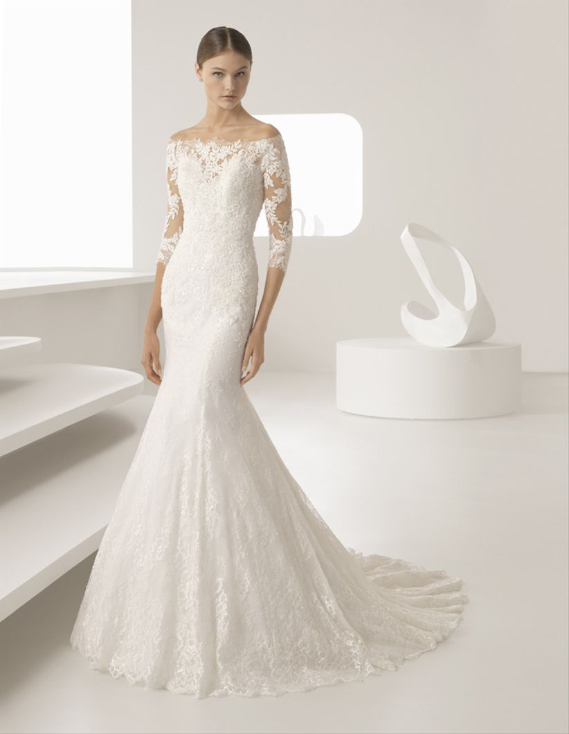 15 vestidos de novia 2018 similares al de Anastasia Steele