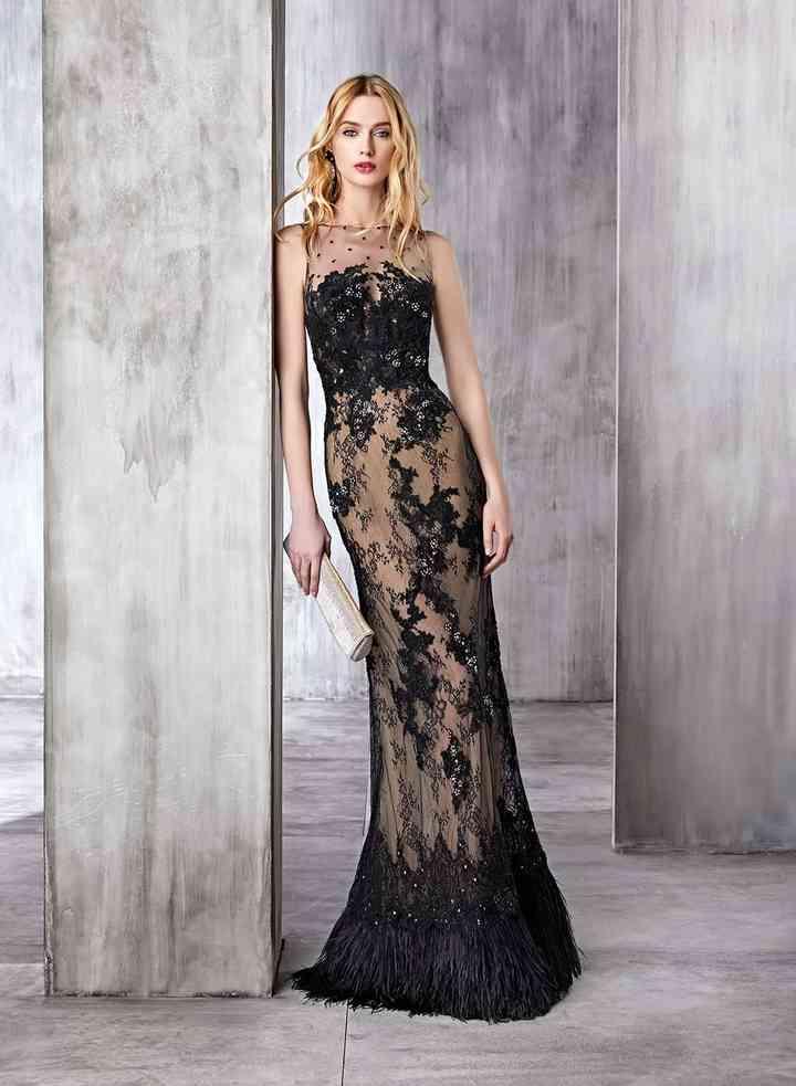 elige lo último zapatillas colección completa 30 vestidos de fiesta: apuesta por el negro y conviértete en ...